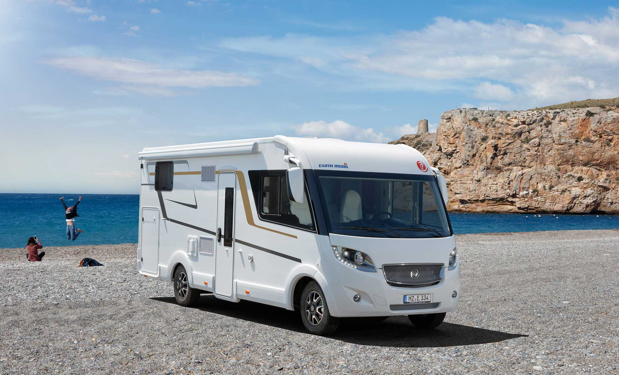 Euramobil Caravan Exterieur